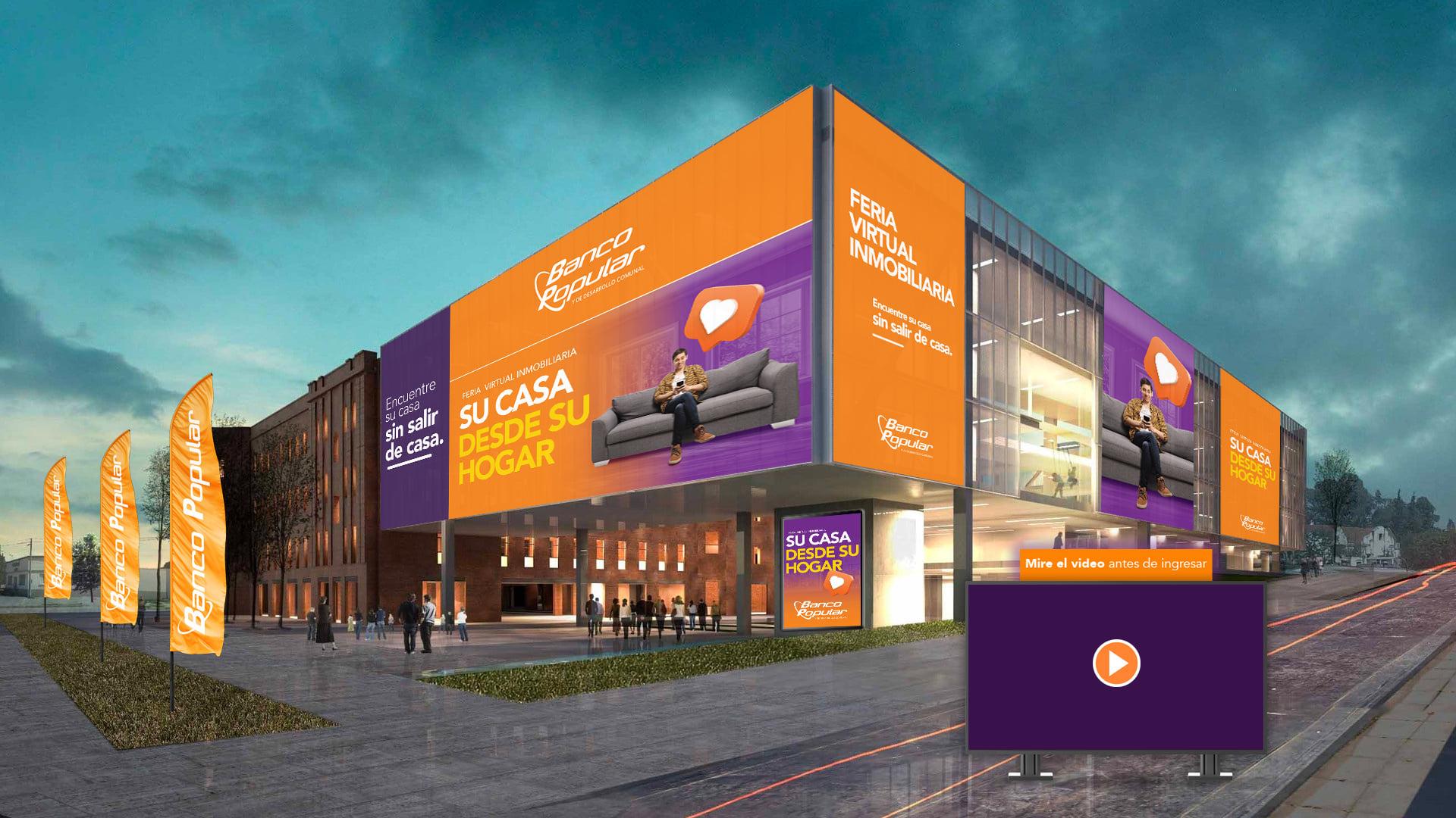 Ferias virtuales 2D o 3D